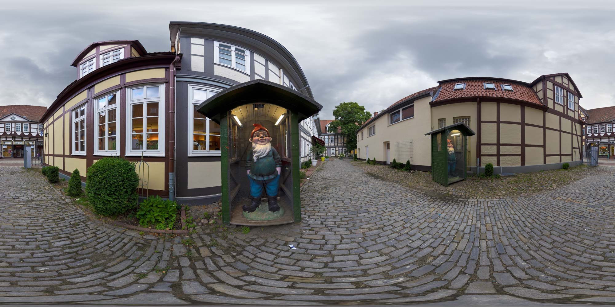 Panorama  Celle - Alter Posthof