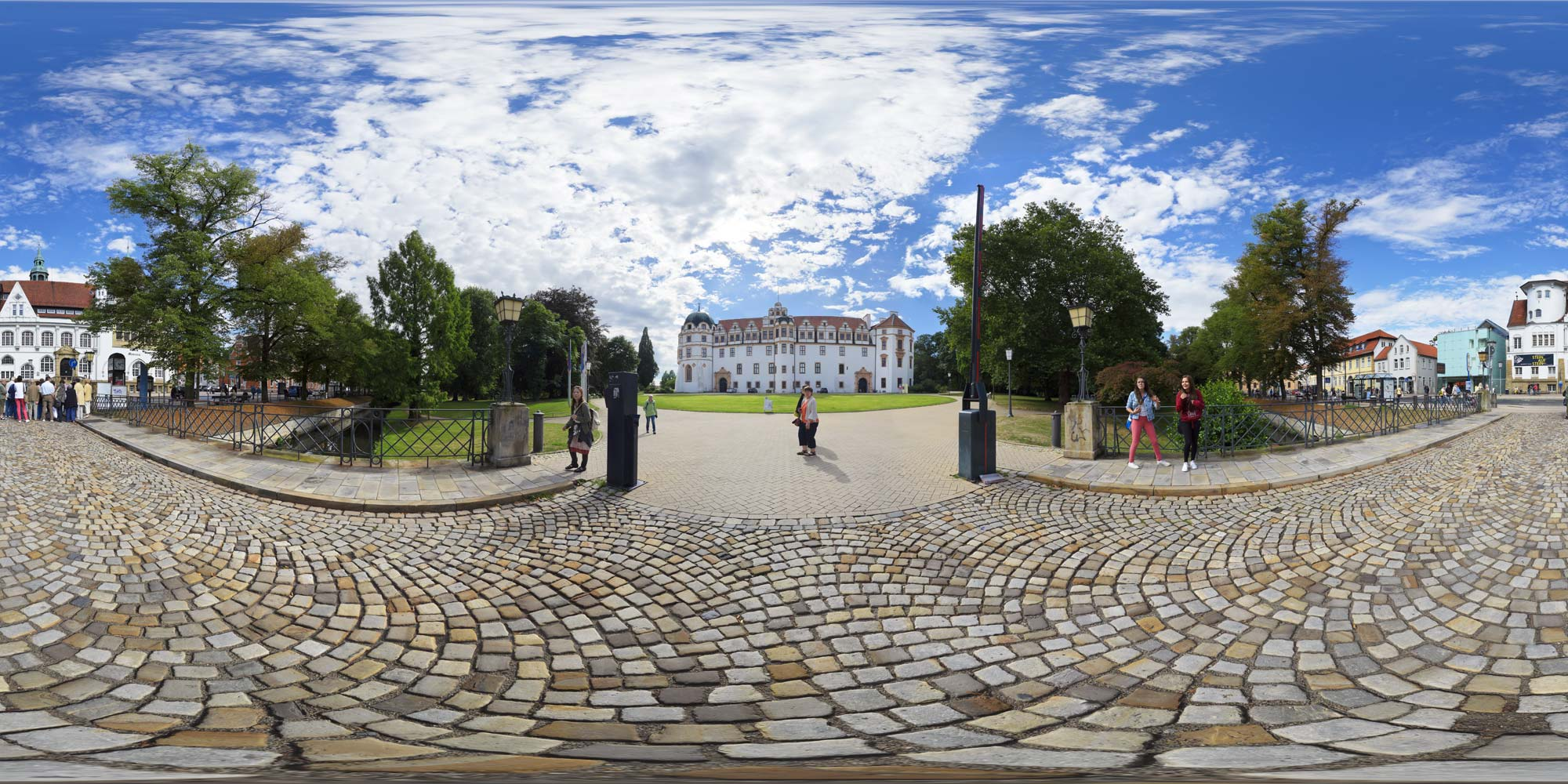 Panorama  Celle - Schloss - Schlossplatz 2
