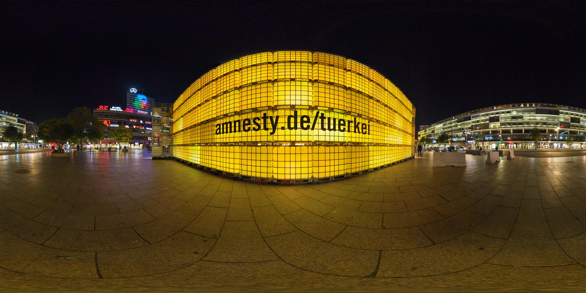 Panorama Berlin Festival of Lights - FOL 2017 Amnesty