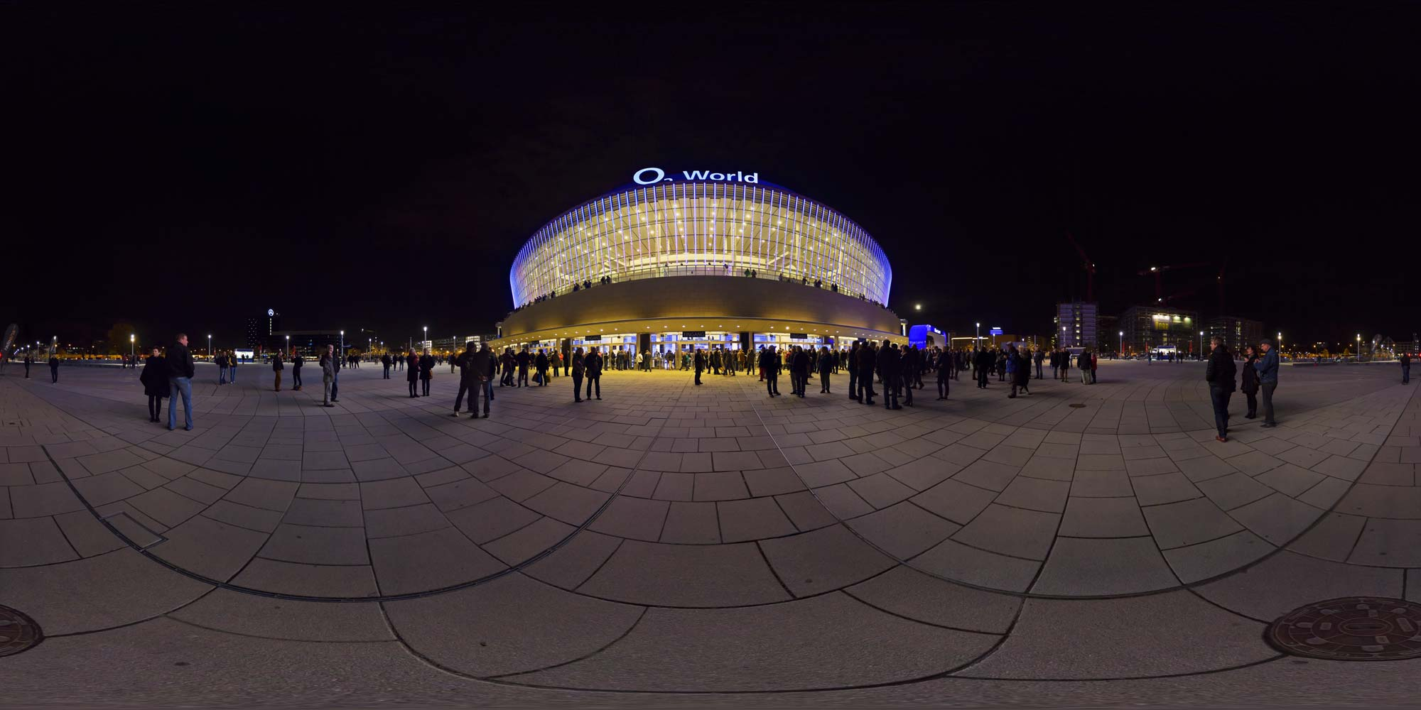 Panorama Berlin Festival of Lights - FOL 2013 O2 World