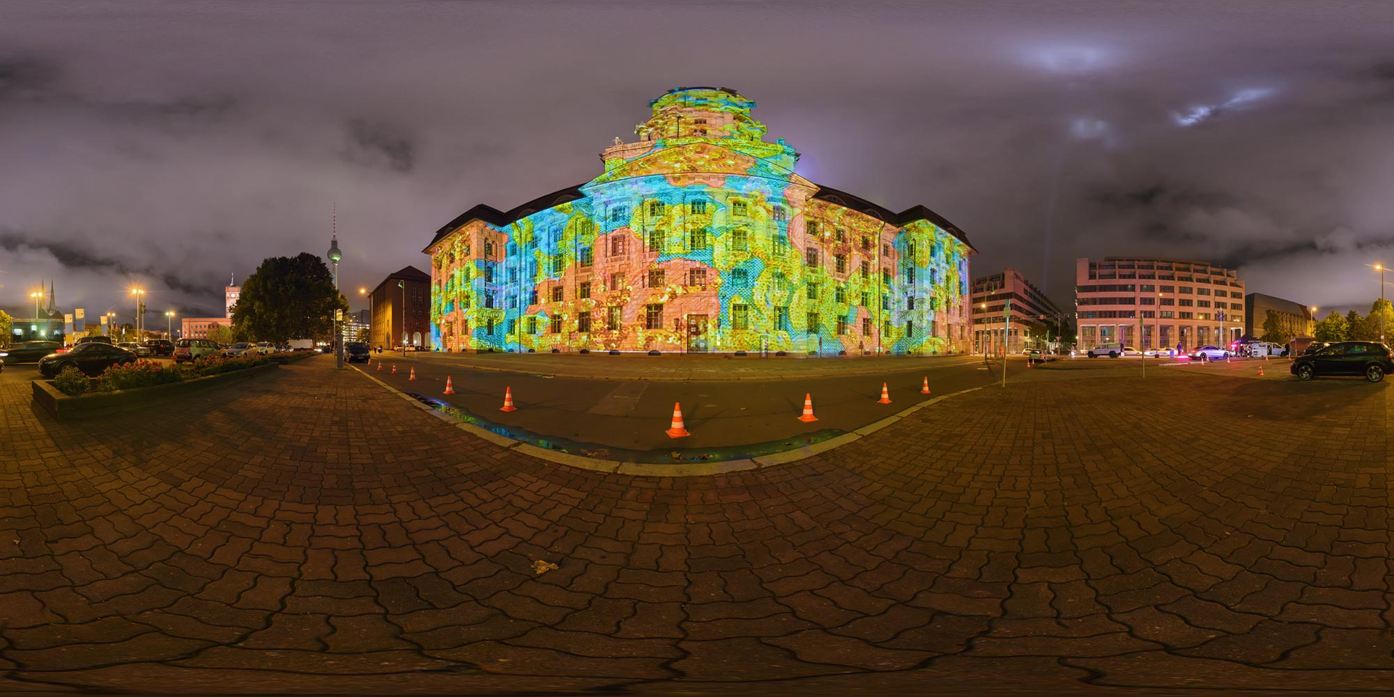 Panorama Berlin Festival of Lights - FOL 2016 Altes Stadthaus