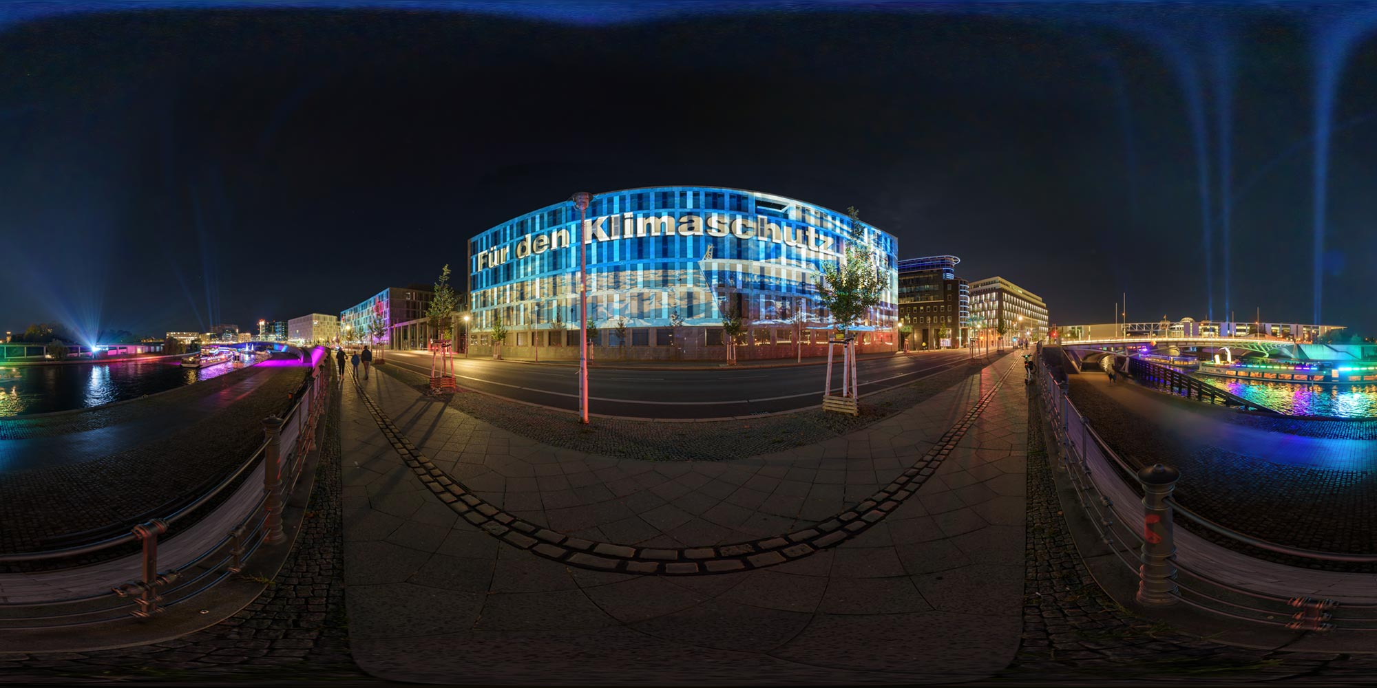 Panorama Berlin Festival of Lights - FOL 2019 Bildungsministerium