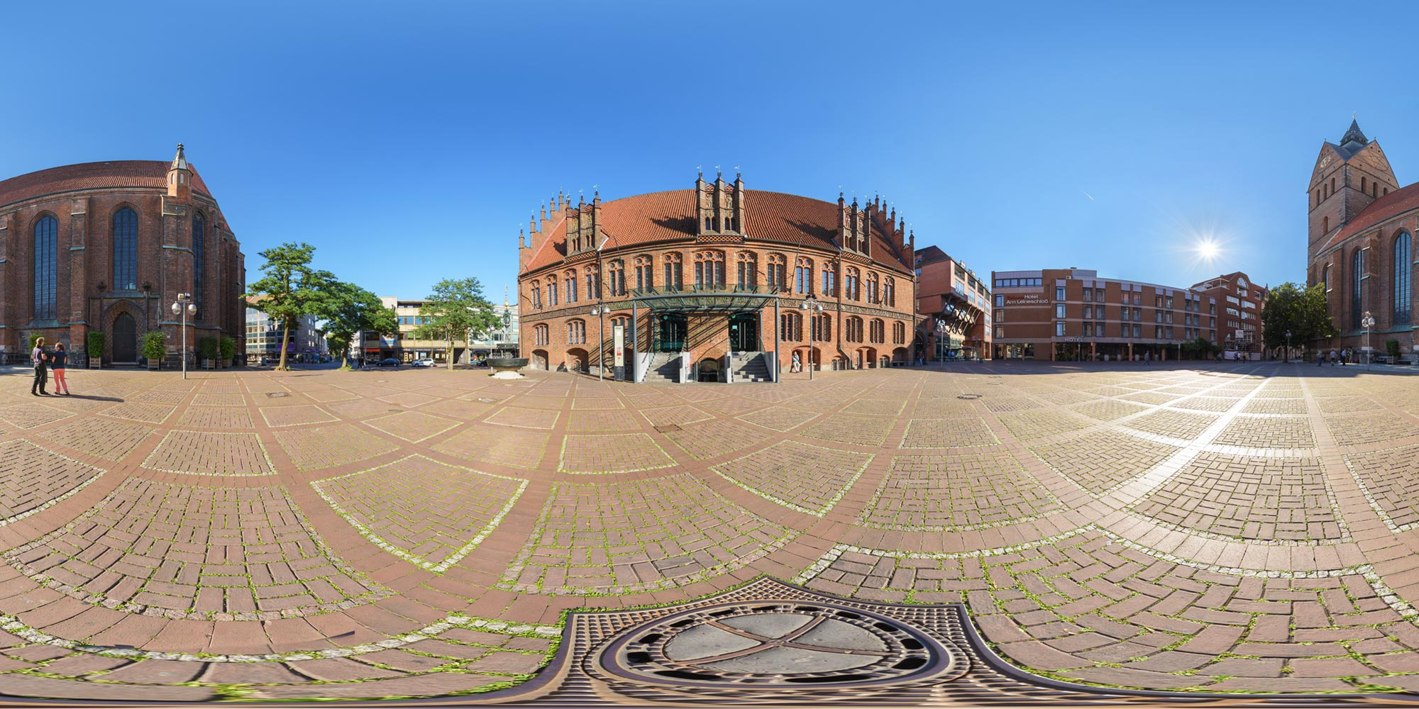 Panorama  Hannover - Am Markte