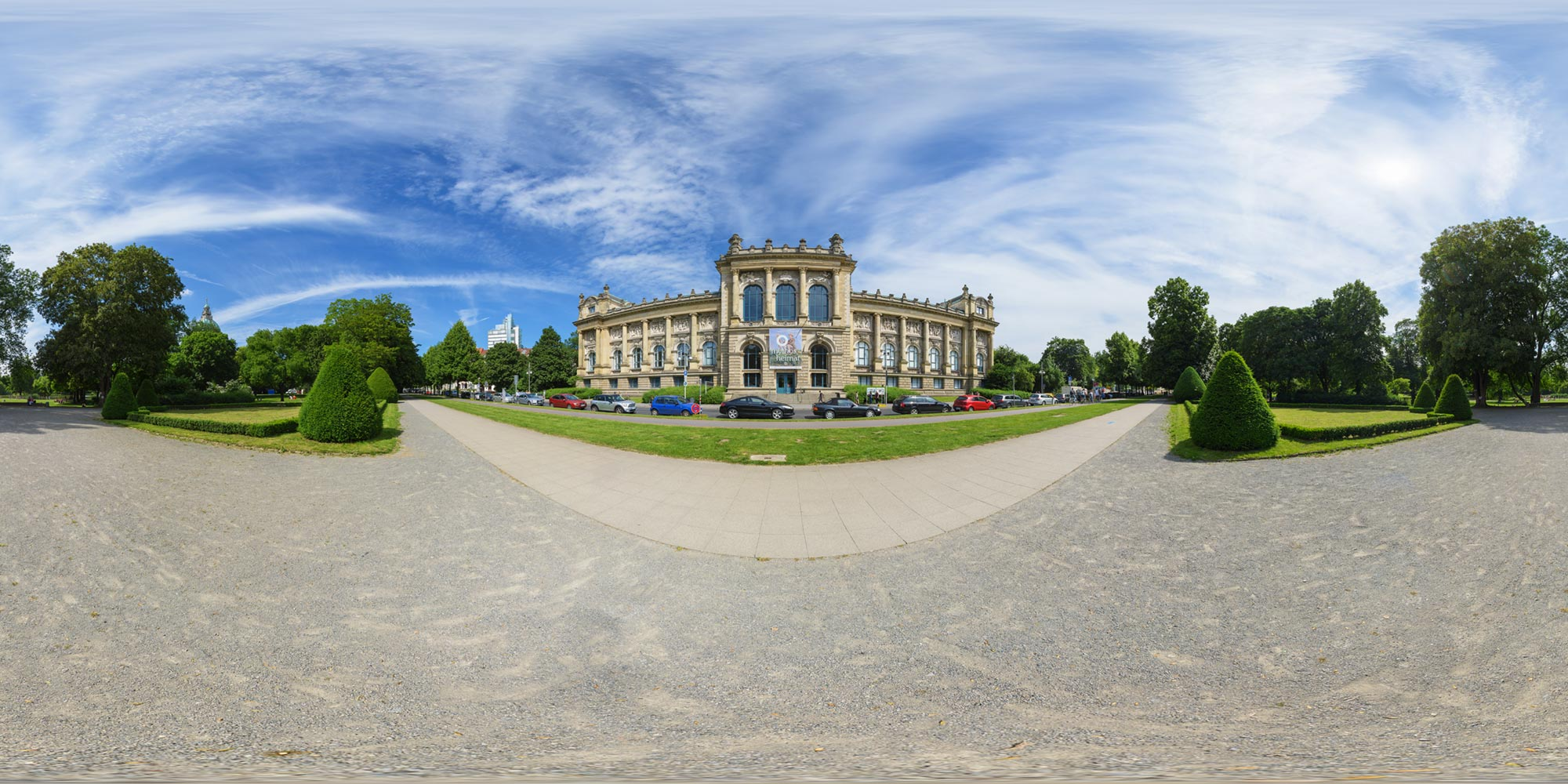 Panorama  Hannover - Landesmuseum - Front