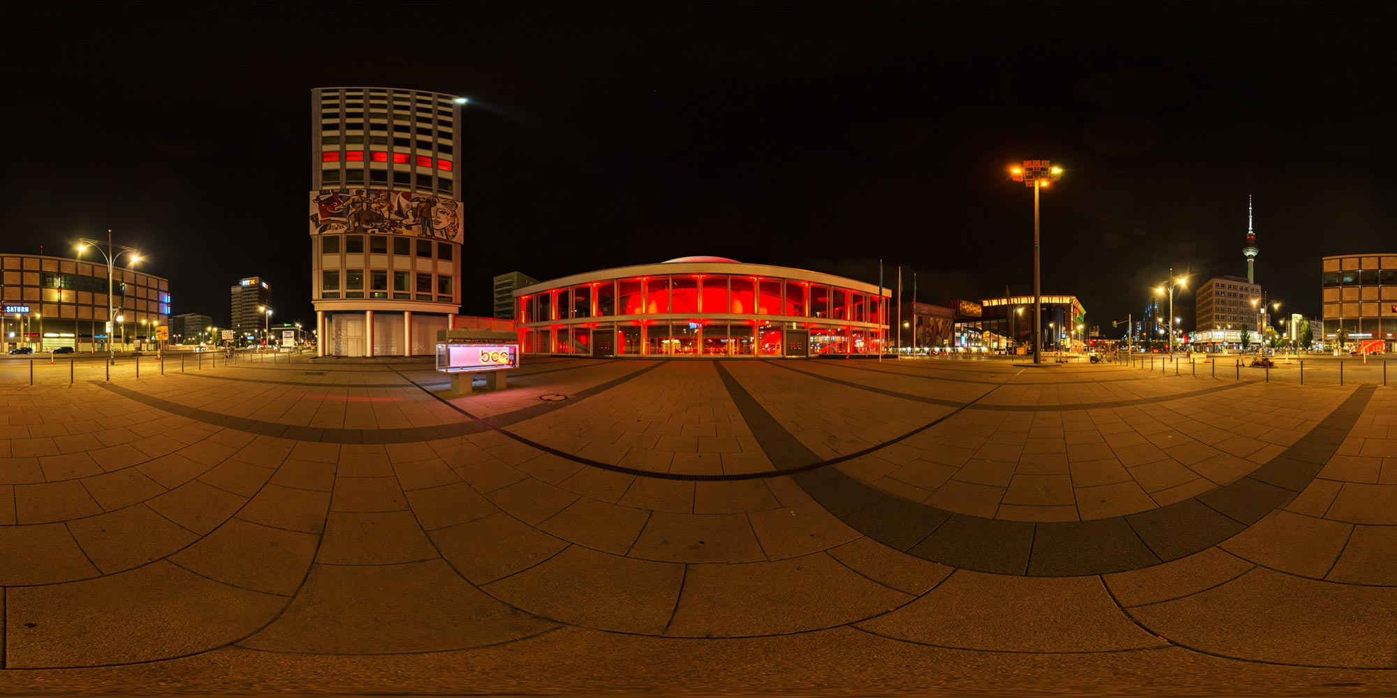 Panorama Berlin Night of Lights 2020 - Congress-Center