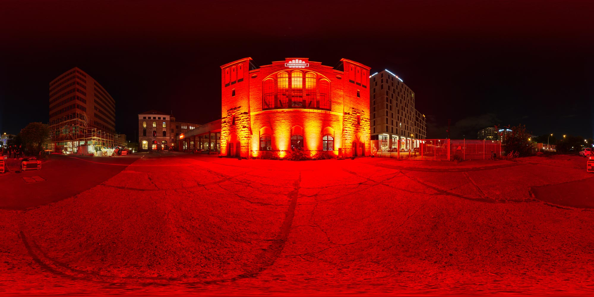 Panorama Berlin Night of Lights 2020 - Postbahnhof