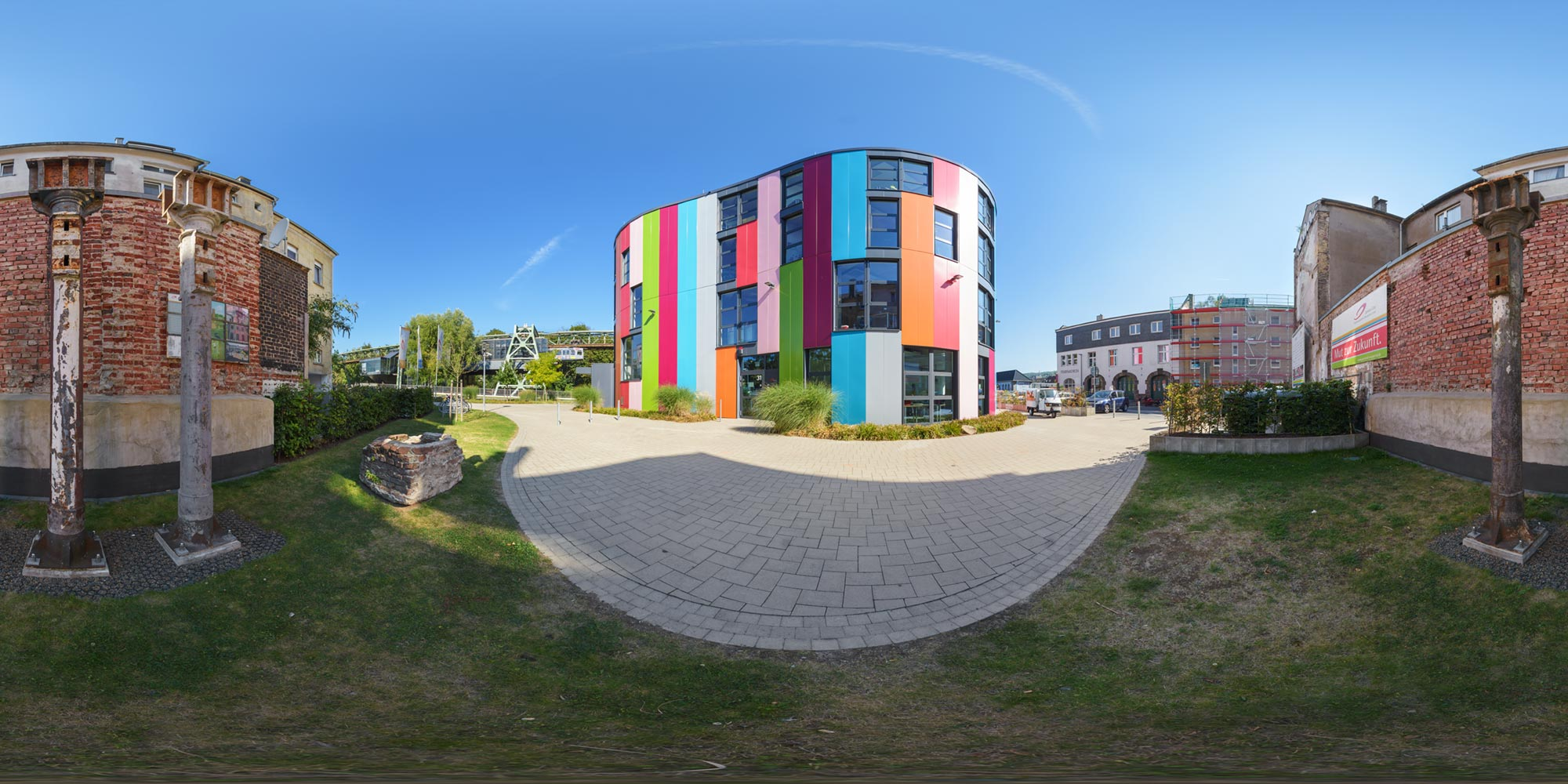 Panorama  Wuppertal - Junior-Uni