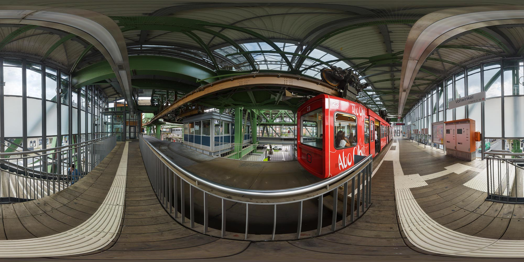 Panorama  Wuppertal - Station Vohwinkel